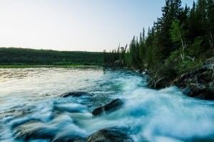 Cameron Ramparts, virtual tour, Cameron Falls, Virtual hike, Northern Canada, Yellowknife
