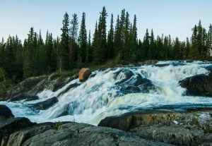 Cameron Ramparts, Yellowknife, Boreal Forrest, Self-paced tour, Cameron Falls