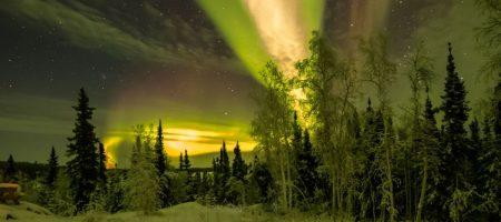 Cloudy aurora viewing